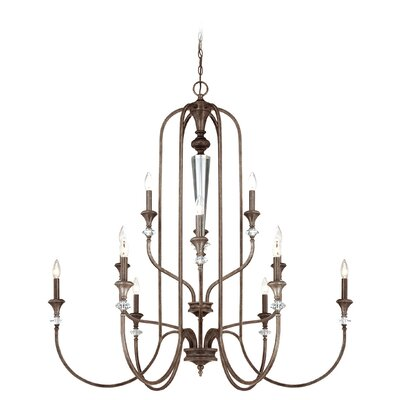 Lapierre 12-Light Candle-Style Chandelier