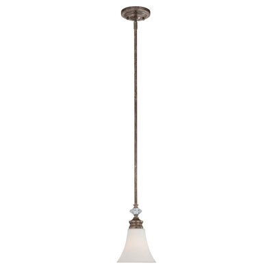 Derrik 1-Light Pendant Glass Type: Clear