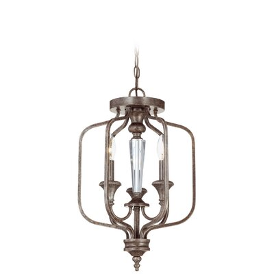 Derrik 3-Light Foyer Pendant