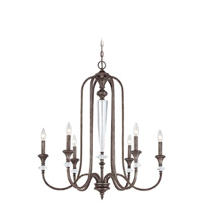 Lapierre 6-Light Candle-Style Chandelier
