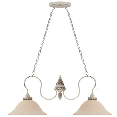 Westerlund 2-Light Kitchen Island Pendant