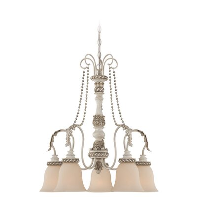 Zoe 5-Light Shaded Chandelier