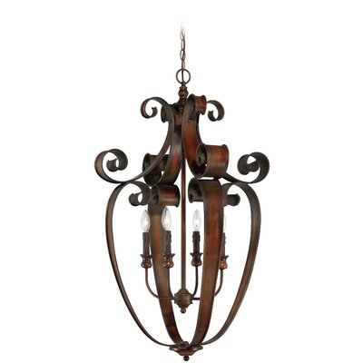 Jaime 4-Light Foyer Pendant