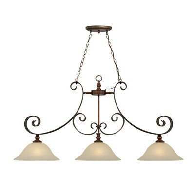 Jaime 3-Light Kitchen Island Pendant
