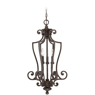 Charlestown 3-Light Foyer Pendant