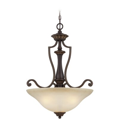 Charlestown 3-Light Inverted Pendant