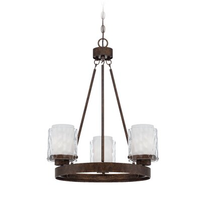 Vidette 3-Light Candle-Style Chandelier