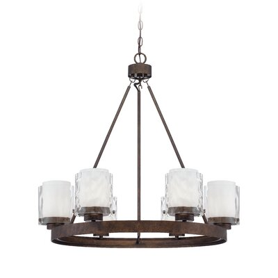 Vidette 6-Light Shaded Chandelier