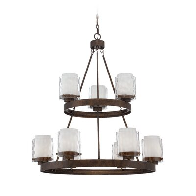 Vidette 9-Light Shaded Chandelier