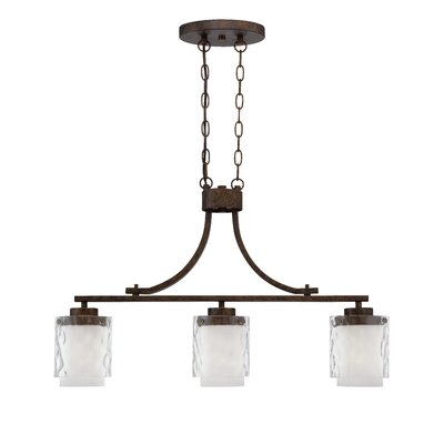 Corisande 3-Light Kitchen Island Pendant