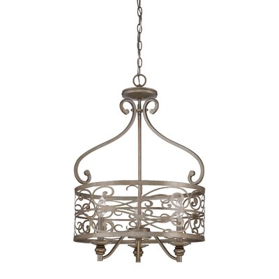 Lanoue 3-Light Foyer Pendant
