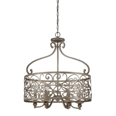 Lanoue 6-Light Drum Pendant