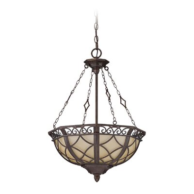 Evangeline 3-Light Inverted Pendant