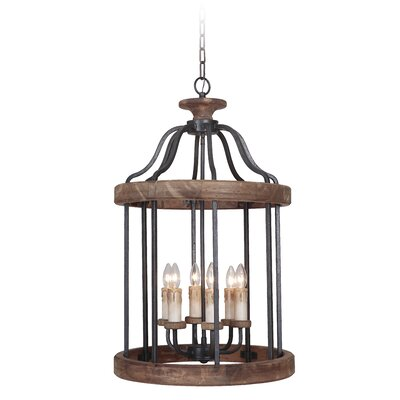 Elisabetta 6-Light Foyer Pendant