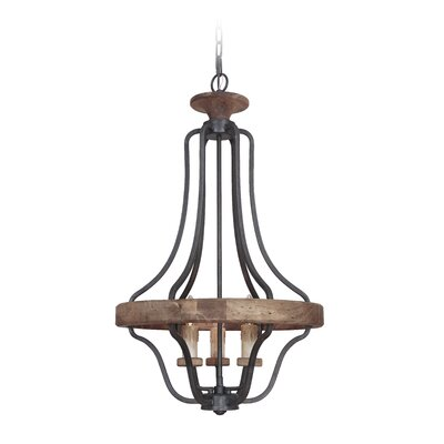 Elisabetta 3-Light Foyer Pendant