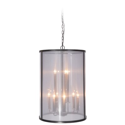 Danbury 9-Light Foyer Pendant