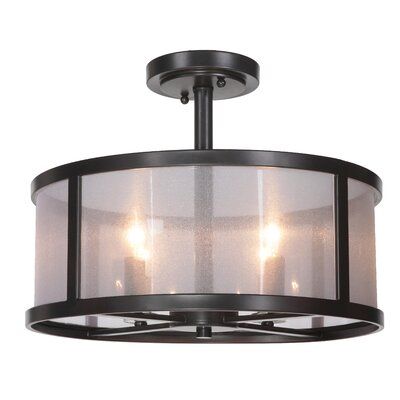 Elmer 4-Light Semi Flush Mount