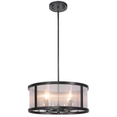 Elmer 4-Light Drum Pendant
