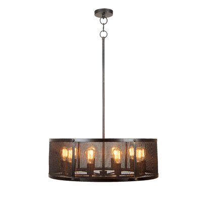 Gibrilla 10-Light Drum Pendant