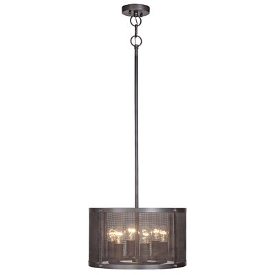 Gibrilla 6-Light Drum Pendant