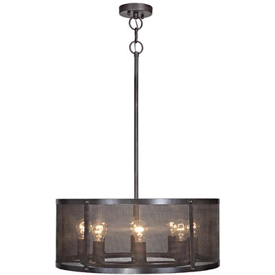 Gibrilla 8-Light Drum Pendant
