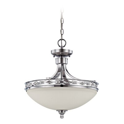 Biron 3-Light Inverted Pendant