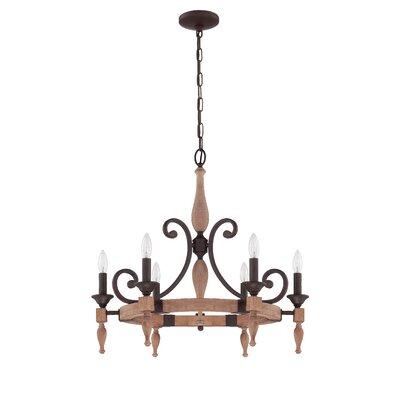 Glenwood 6-Light Candle-Style Chandelier
