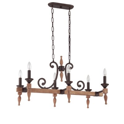 Glenwood 6-Light Kitchen Island Pendant