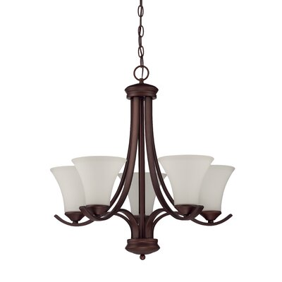 Cicely 5-Light Candle-Style Chandelier
