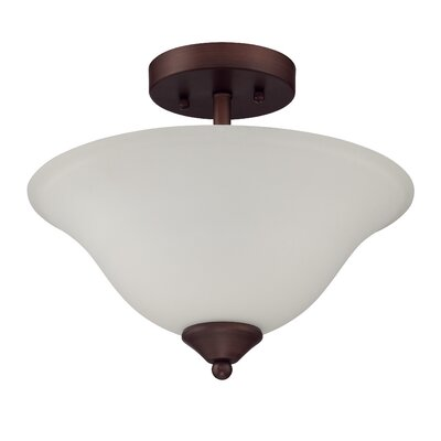Sterling 2-Light Semi Flush Mount