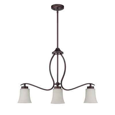 Grampian 3-Light Kitchen Island Pendant Finish: Aged Bronze Brushed