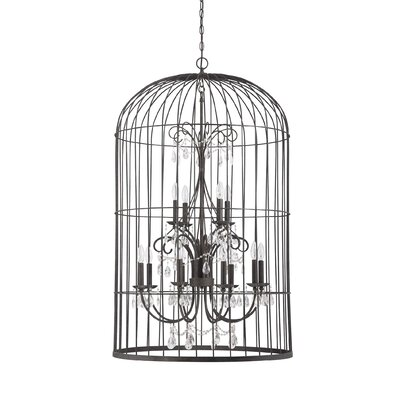 Irfan 12-Light Foyer Pendant Finish: Valencian Iron