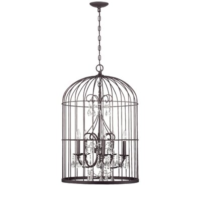 Irfan 3-Light Foyer Pendant Finish: Valencian Iron