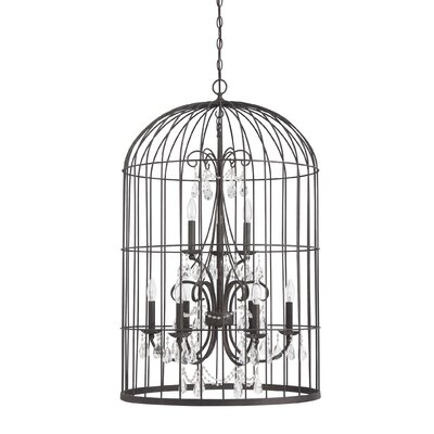 Irfan 9-Light Foyer Pendant Finish: Valencian Iron