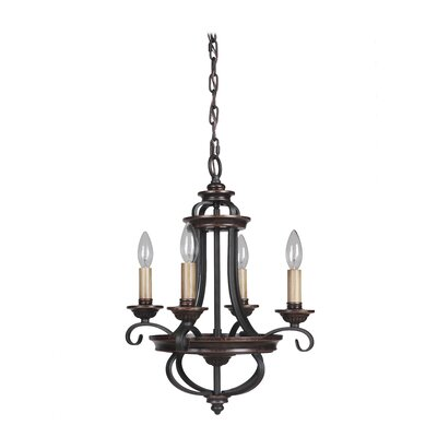 Stafford 4-Light Candle-Style Chandelier