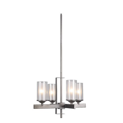 Fludd 4-Light Candle-Style Chandelier