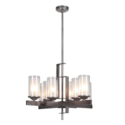 Fludd 8-Light Shaded Chandelier