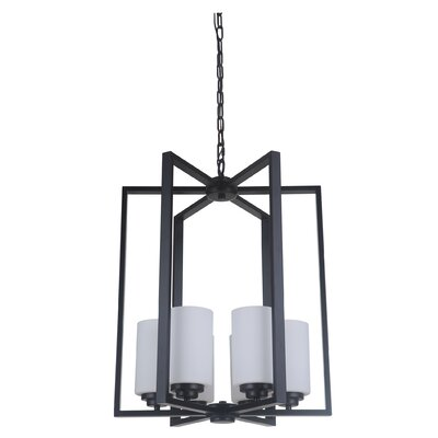 Keisuke 6-Light Foyer Pendant Finish: Oiled Bronze