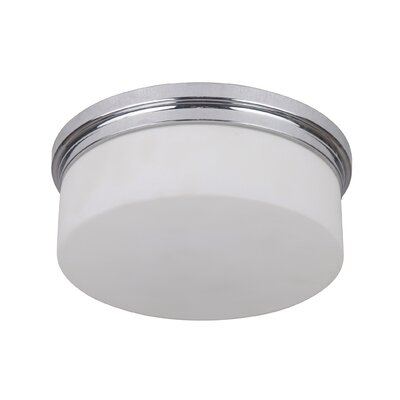 Keisuke 2-Light Flush Mount Finish: Chrome