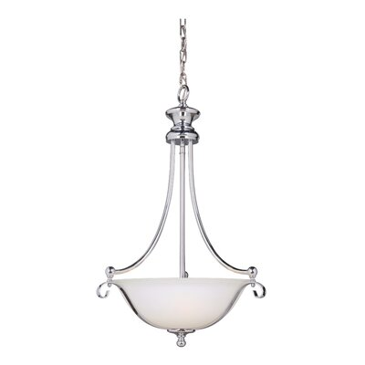 Osbourn 3-Light Inverted Pendant Finish: Chrome