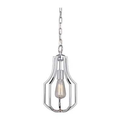 Rockville 1-Light Mini Pendant Finish: Chrome