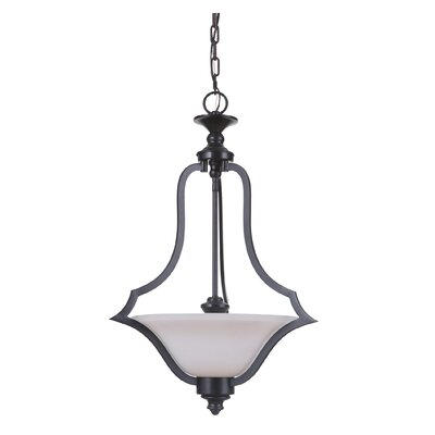 Cohee 3-Light Inverted Pendant Finish: Matte Black