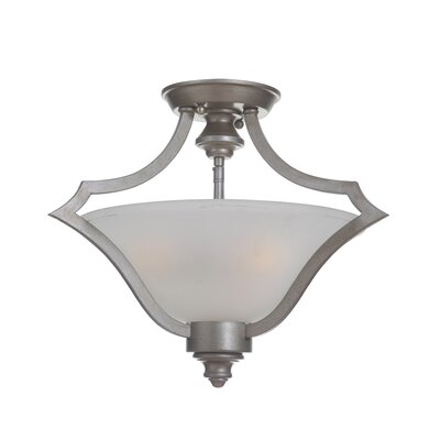 Cohee 3-Light Semi Flush Mount Finish: Athenian Obol