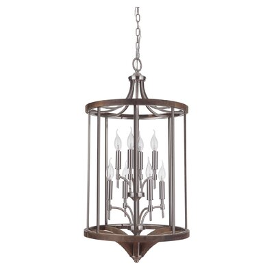 Tahoe 8-Light Foyer Pendant Finish: Brushed Nickel