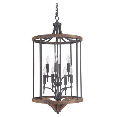 Polen 8-Light Foyer Pendant Finish: Espresso