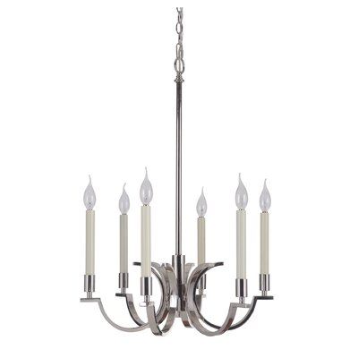Salford 6-Light Candle-Style Chandelier