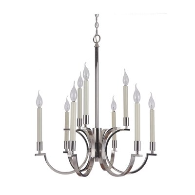 Salford 9-Light Candle-Style Chandelier