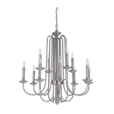 Avery 12-Light Candle-Style Chandelier