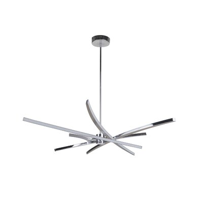 Davidson 9-Light LED Sputnik Chandelier