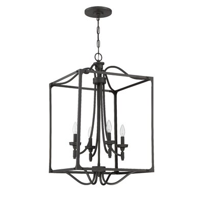 Beauchamp 4-Light Foyer Pendant Finish: Aged Bronze Brushed